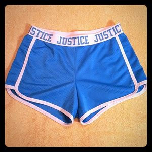 Justice Bottoms - Justice mesh shorts. Size 10; never worn.